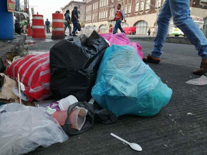 La CDMX es la segunda urbe que mas basura genera en el mundo, despues de NY