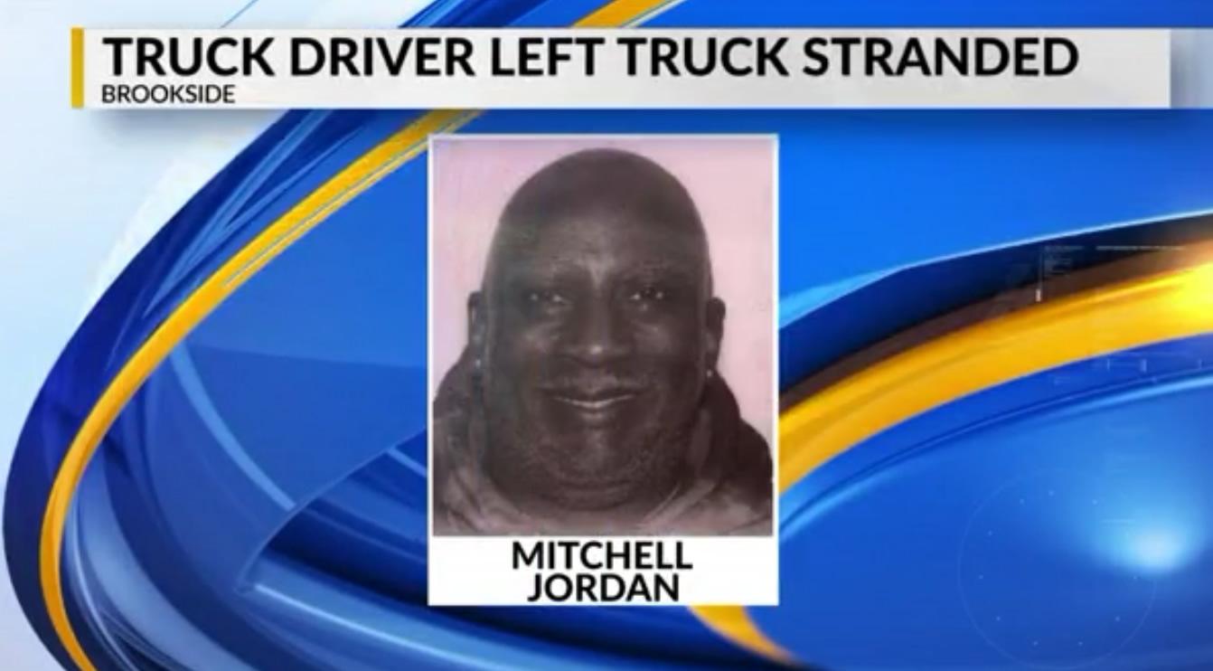 conductor abandono camion esta a salvo