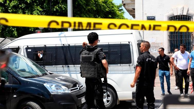 cordon de seguridad atentando en tunez