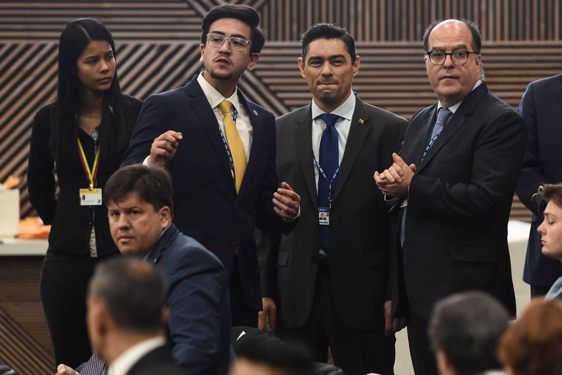 enviados Juan Guaido OEA