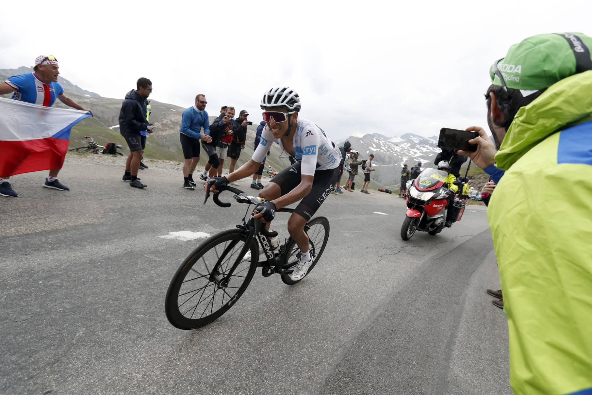 Egan Bernal sentencia el Tour en el Iseran