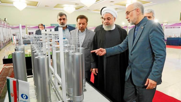 Irán enriquece uranio por encima del límite del acuerdo