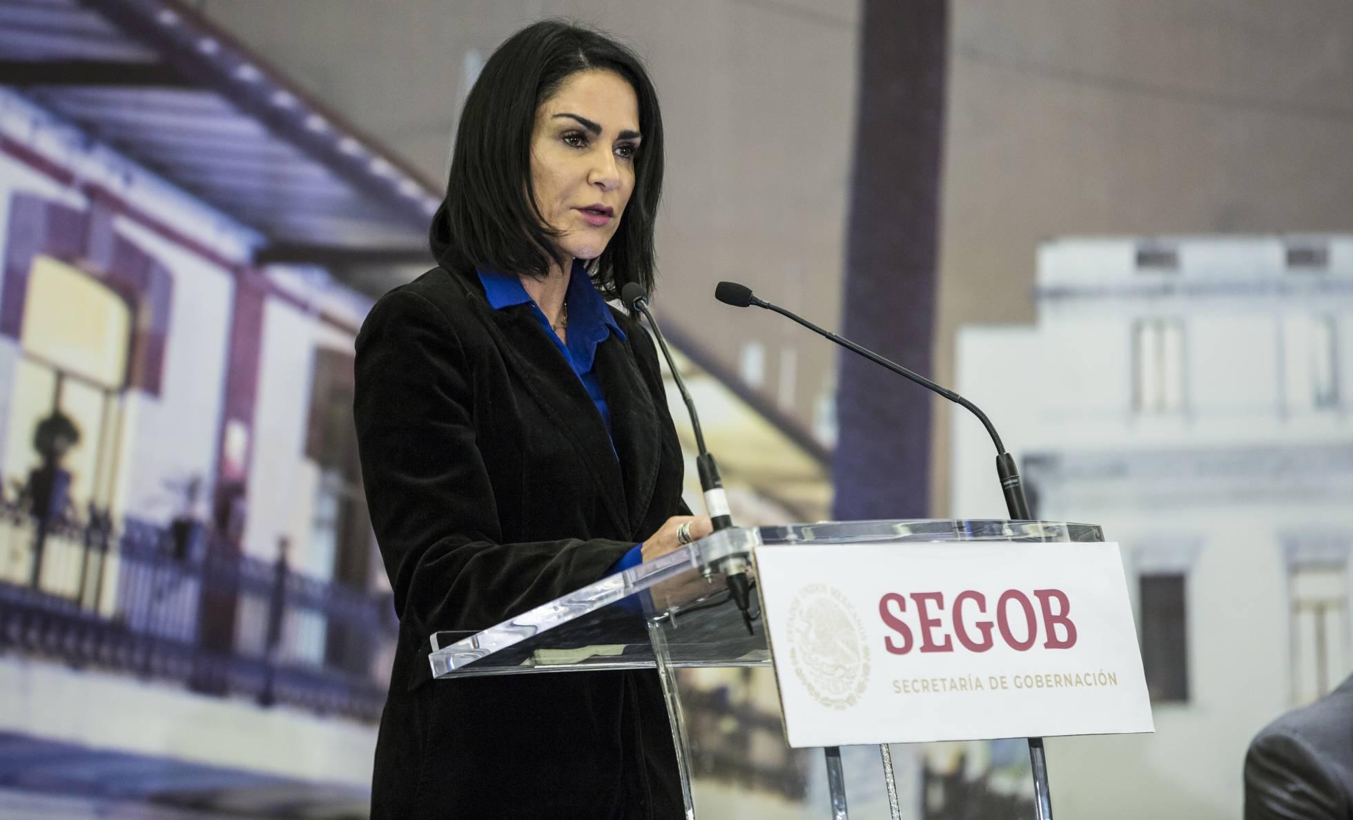 Lydia Cacho reportera