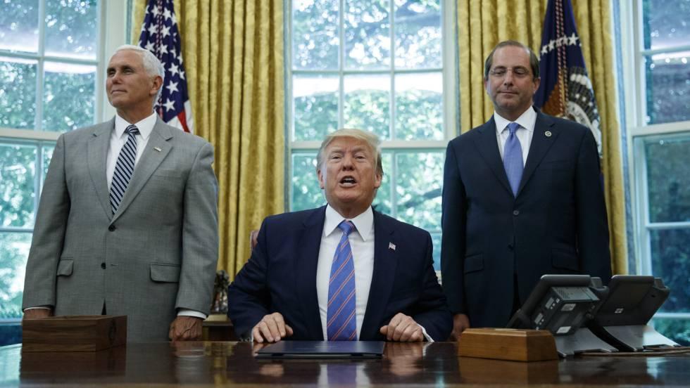 Trump y Mike Pence