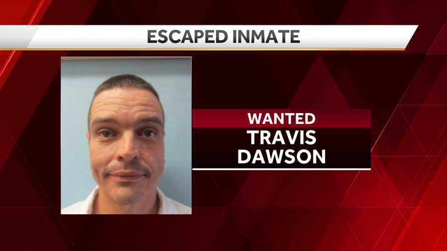 travis dawson escaped inmate