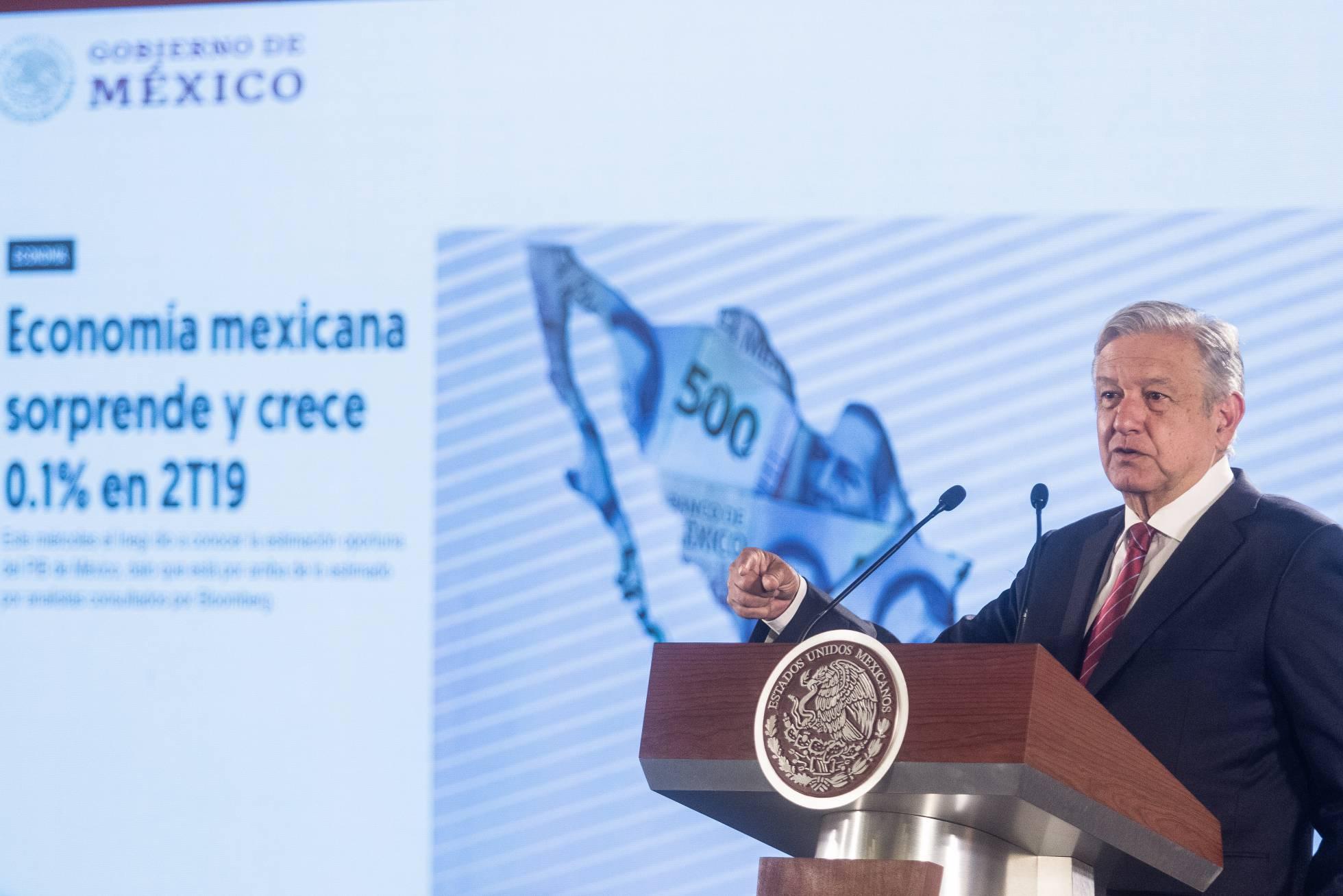 López Obrador entra en una encrucijada ante el freno de la economía mexicana
