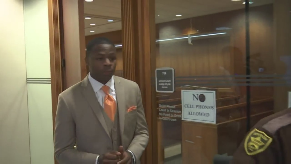 1 Michael Barber convicted of negligent homicide