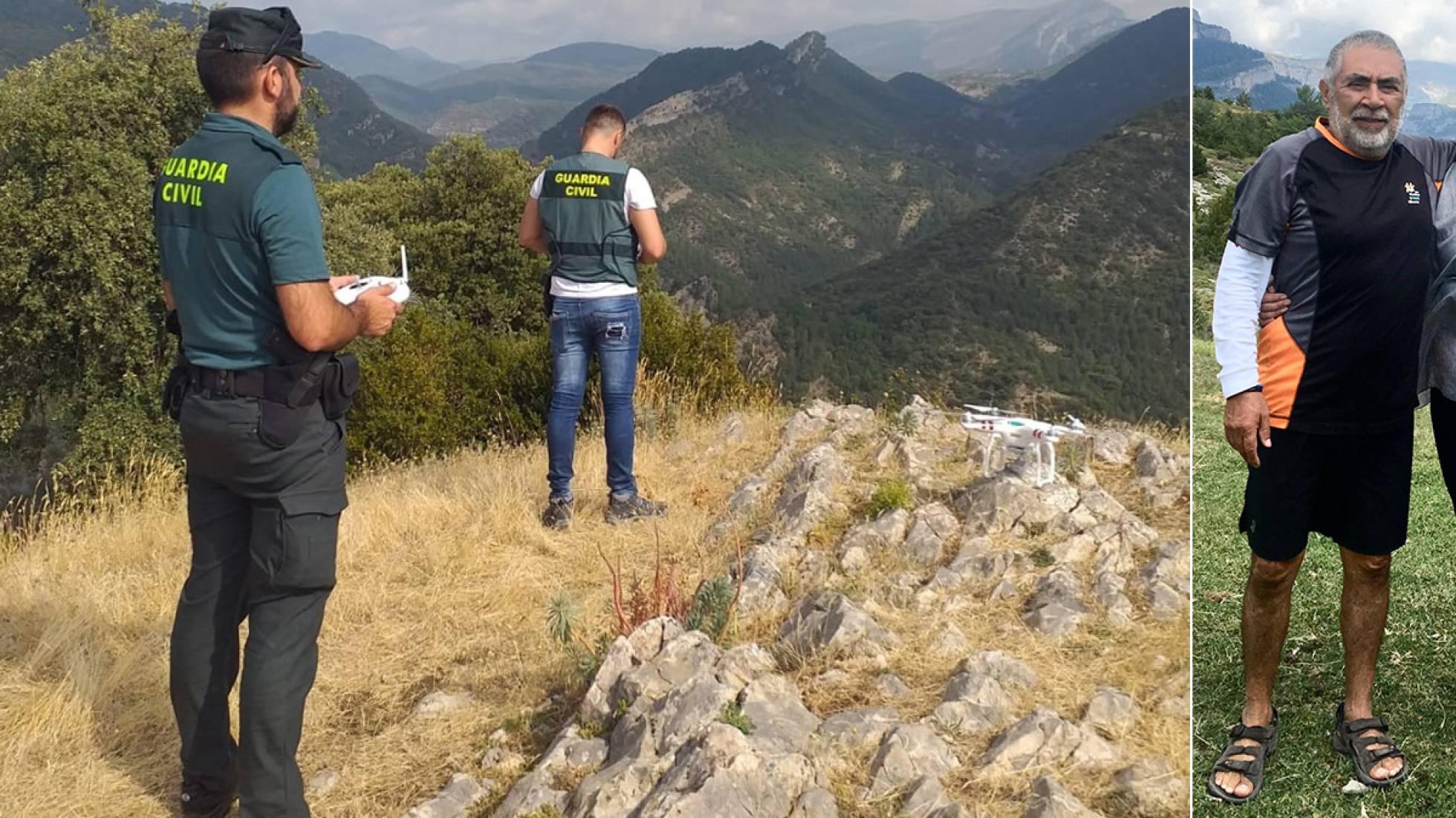 El turista mexicano perdido en Huesca murió de un paro cardíaco el día que desapareció, según la familia