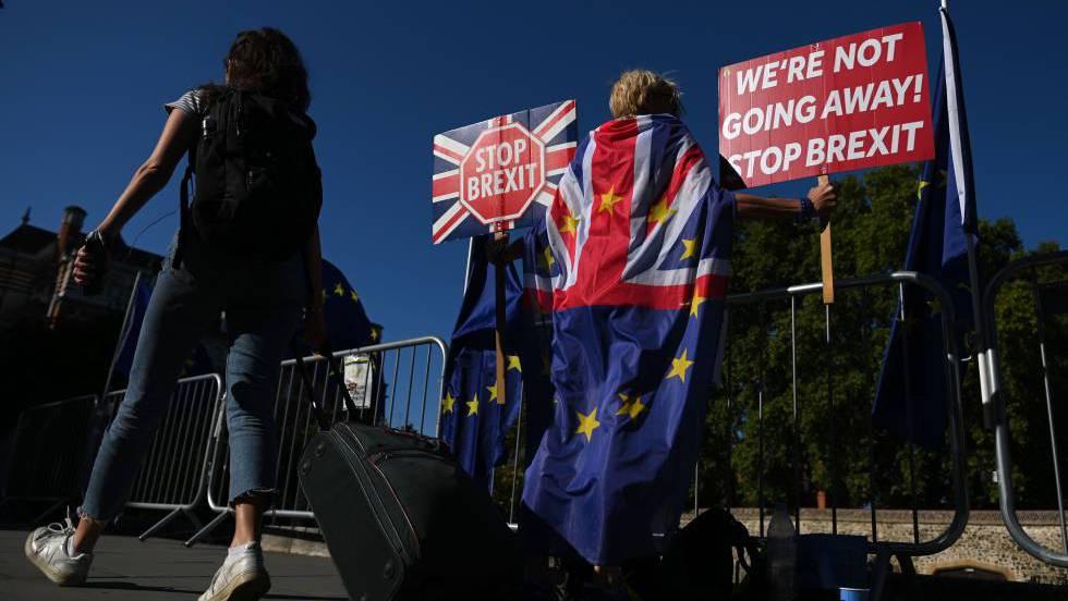 1 protesta Londres