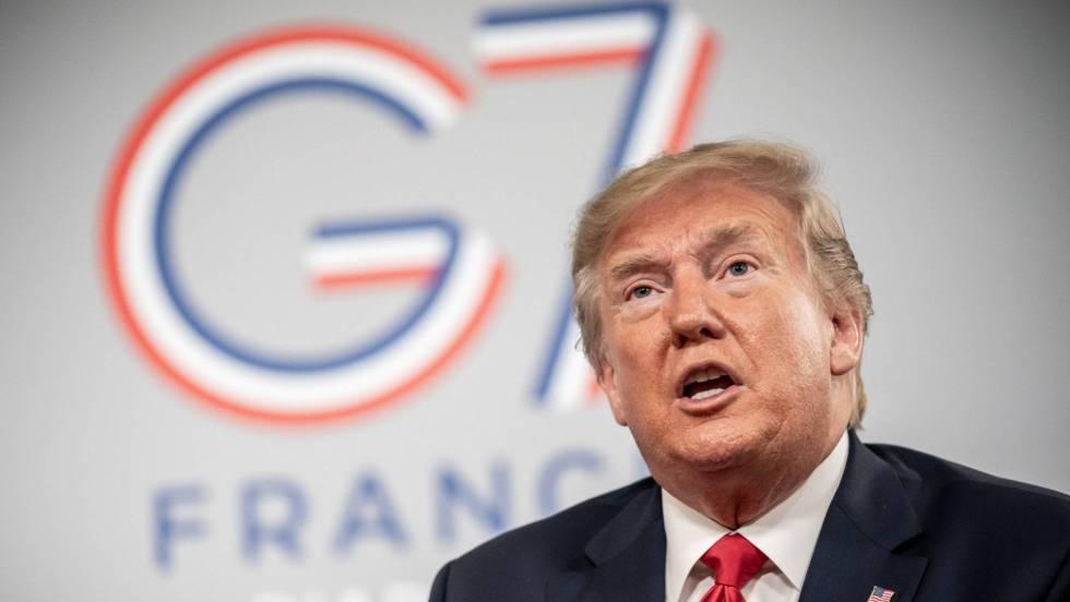 Donald Trump en G7