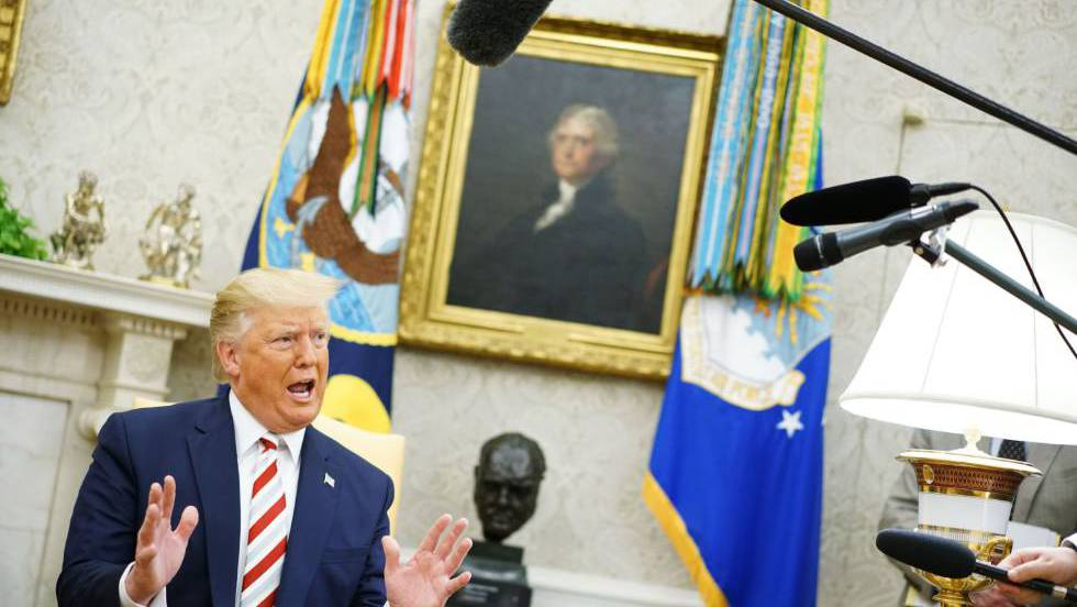 Trump cancela vía Twitter su viaje a Dinamarca porque no quieren venderle Groenlandia