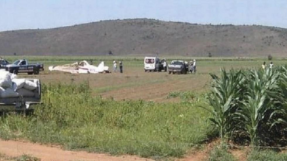 Desplome de aeronave en Chihuahua deja dos heridos