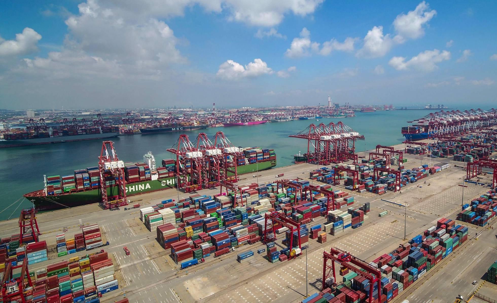 contenedores en china