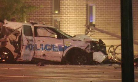 dayton stolen police cruiser crash