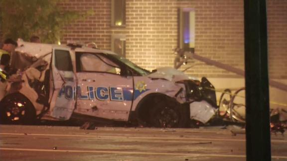 Al menos dos niños muertos y diez heridos en un accidente con un coche de policía robado en Dayton