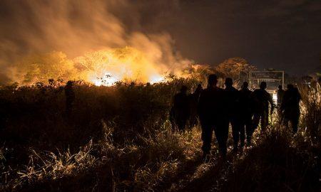 incendios forestales en Bolivia 2
