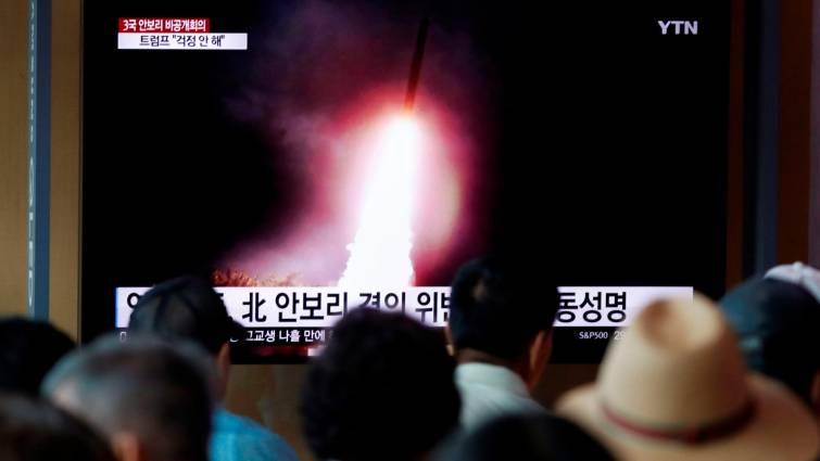 lanzamiento misil corea del norte