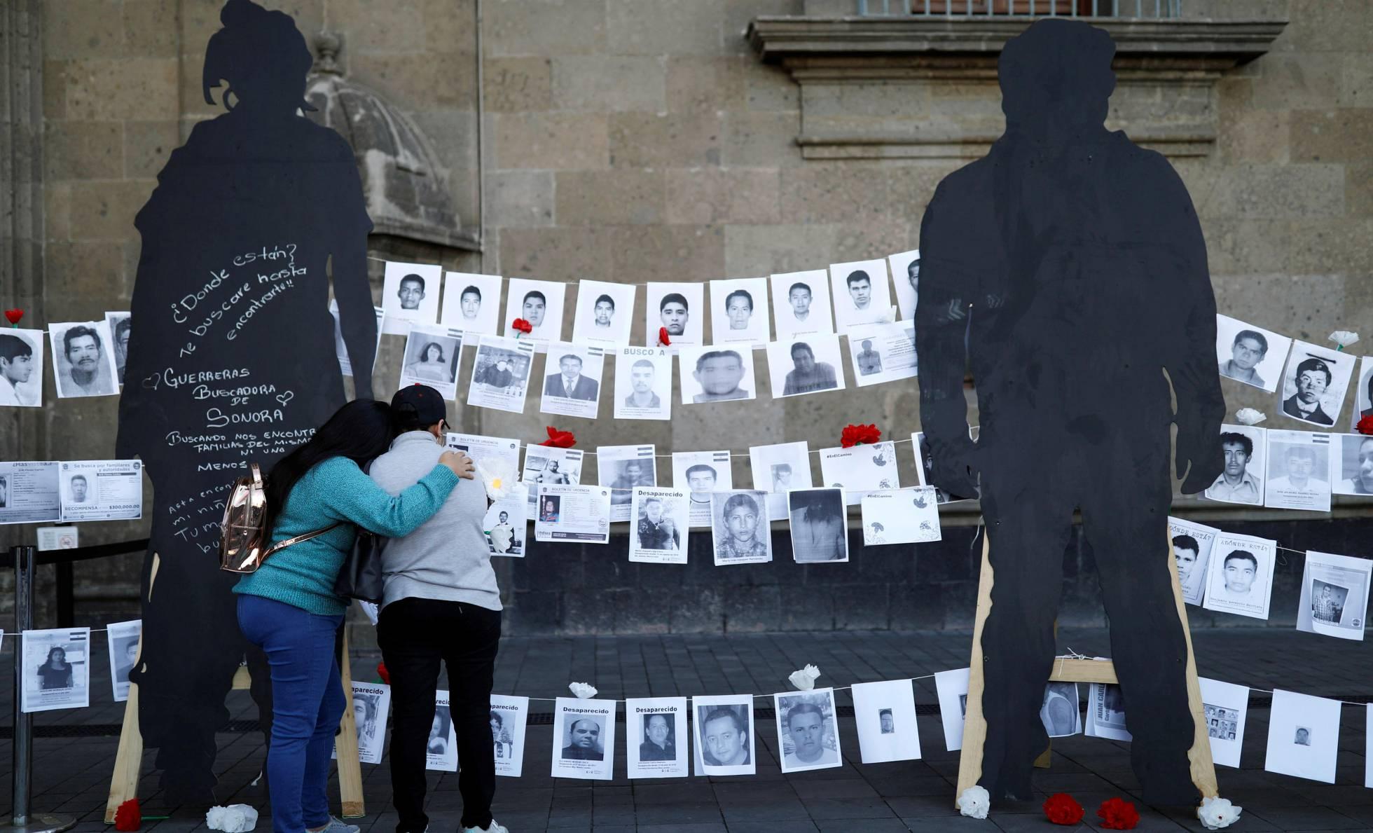 manifestacion por desaparecidos en