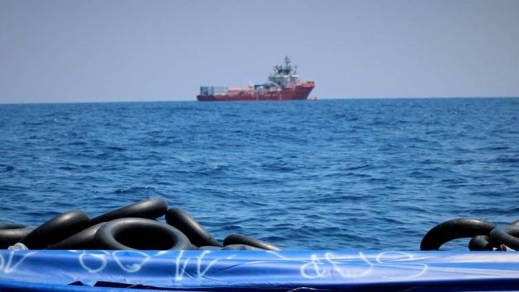 """Malta llevará a tierra a los inmigrantes del """"Ocean Viking"""" tras catorce días a la deriva"""