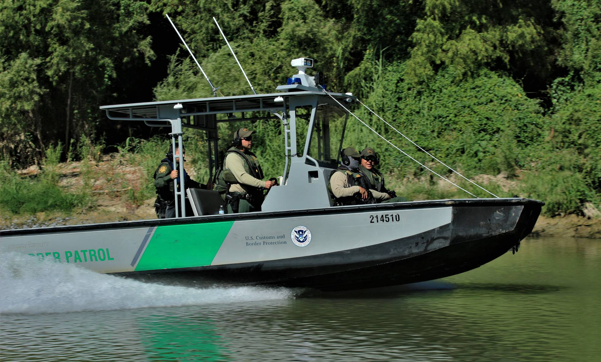 La patrulla fronteriza de Estados Unidos denuncia un ataque desde territorio mexicano