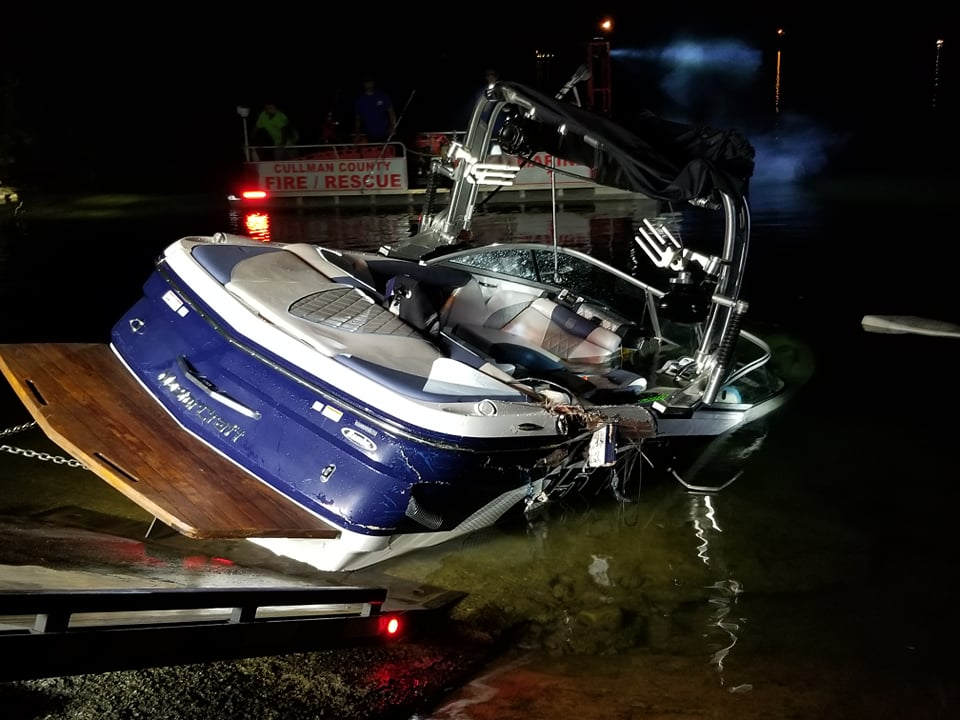 Pareja acusada de mortal accidente de barco en julio