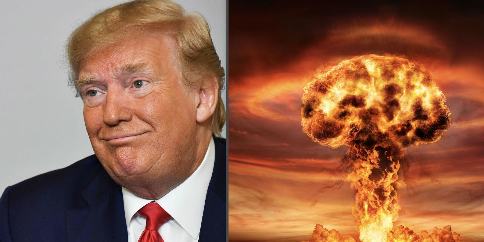 Esta es la solución que Trump propuso más de una vez para evitar que los huracanes golpeen a EEUU, según reporte: destruirlos con una bomba nuclear
