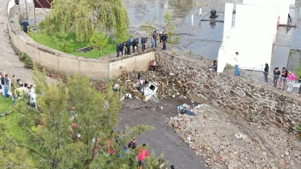 Suman cinco muertos por crecida de arroyo en Tlajomulco de Zúñiga, Jalisco