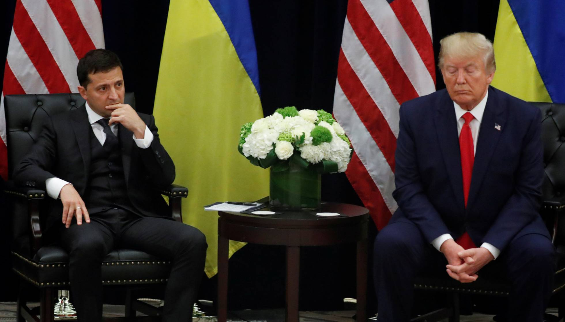 1 presidente de ucrania y trump