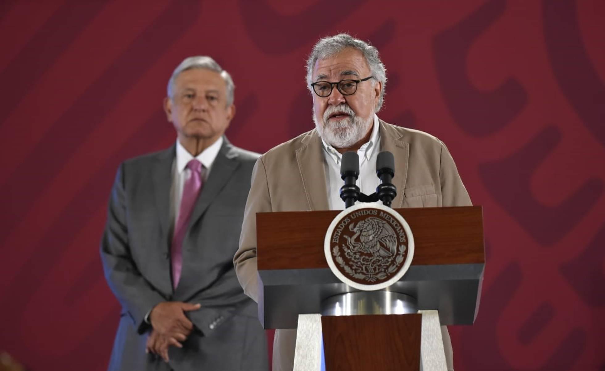 Encinas y Lopez Obrador