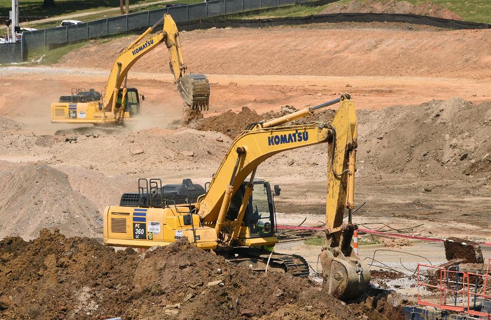 Construcción del nuevo estadio en Birmingham