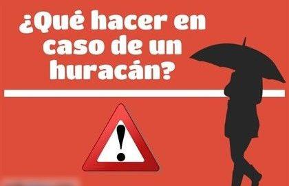 en caso de huracan