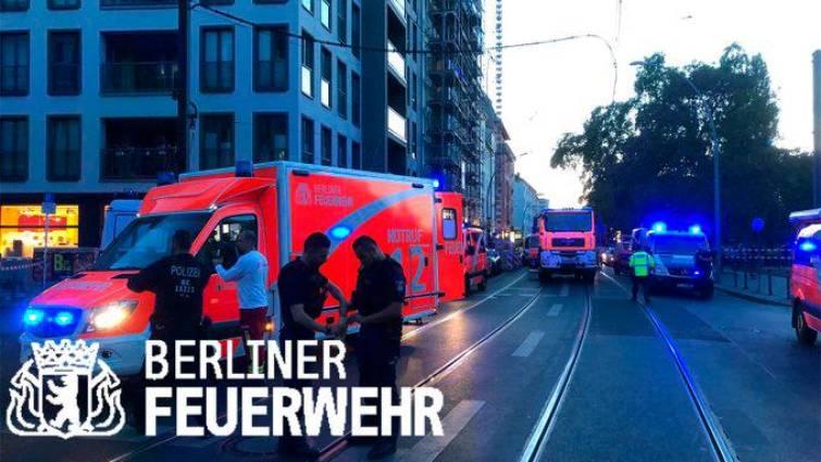 imagen bomberos en Berlin