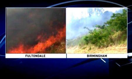 incendios en Alabama