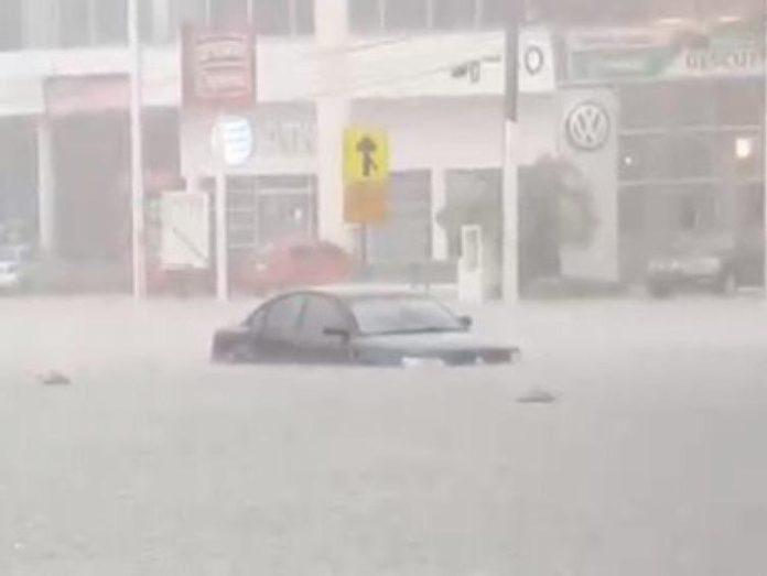 inundaciones en Villa Hermosa