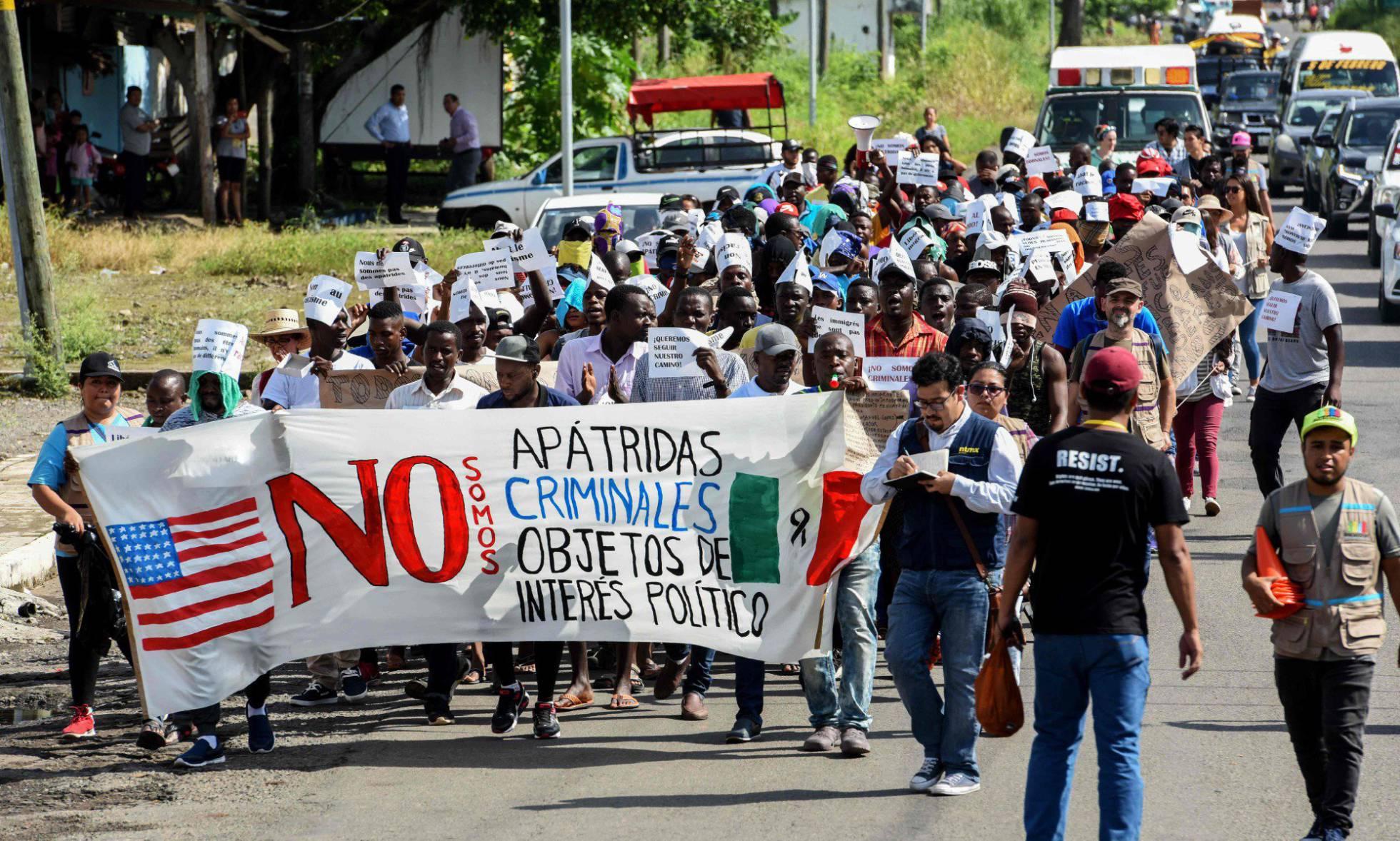 La inmigración irregular a EE UU cae un 56% desde la amenaza arancelaria de Trump a México