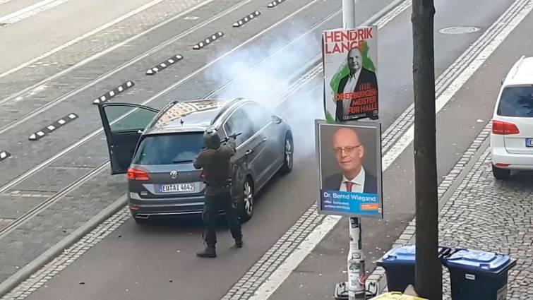 Un neonazi, el autor del atentado contra la sinagoga y el kebab en el este de Alemania