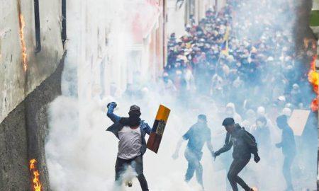 1 manifestaciones en Quito Ecuador