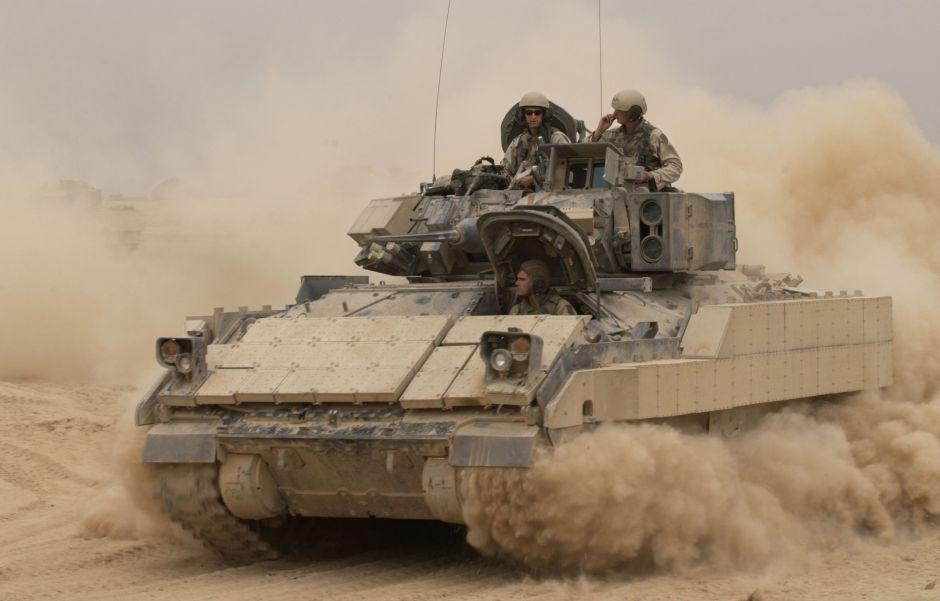 Un tanque Bradley