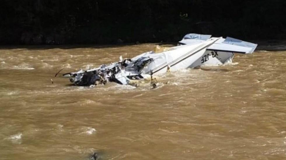 Se desploma avión pequeño en Michoacán; hay cinco muertos
