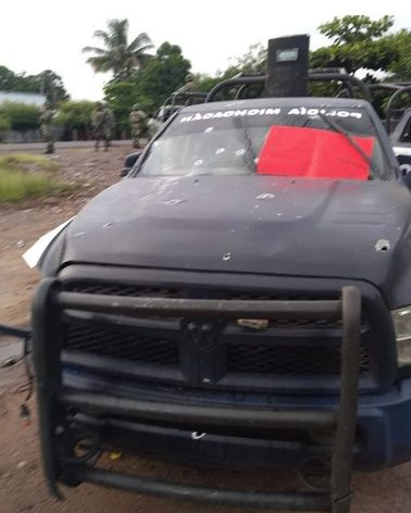 emboscada en Michoacan