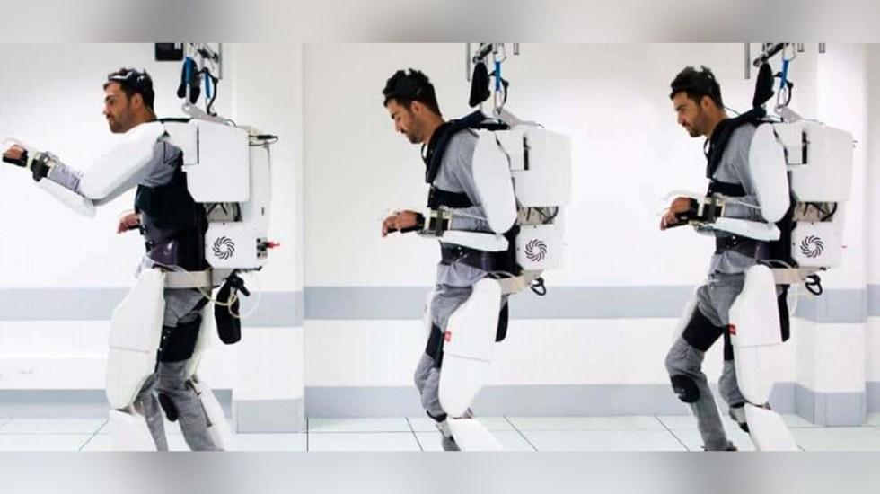 Estudiantes mexicanos diseñan exoesqueleto para personas sin movilidad en brazos