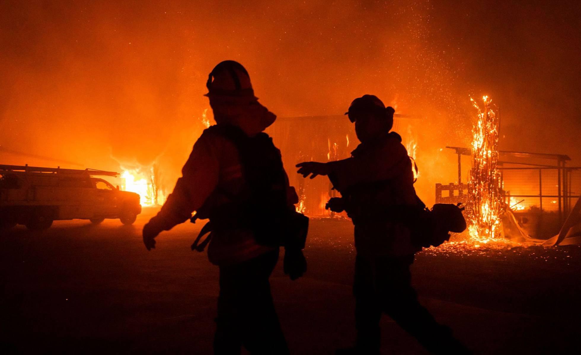 incendios en Los Angeles