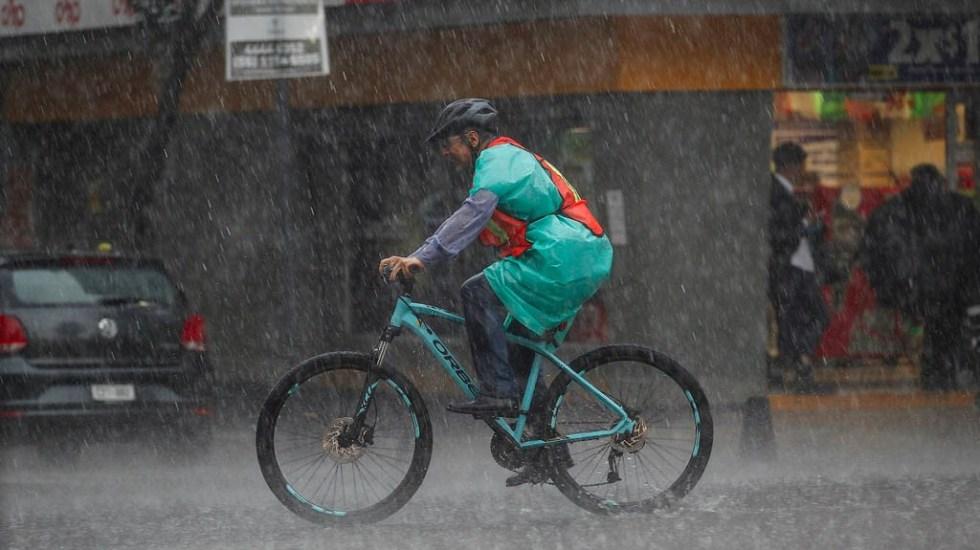 Activan la Alerta Amarilla por lluvias en 10 alcaldías capitalinas