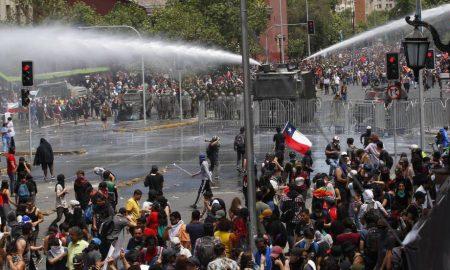 manifestacion en chile