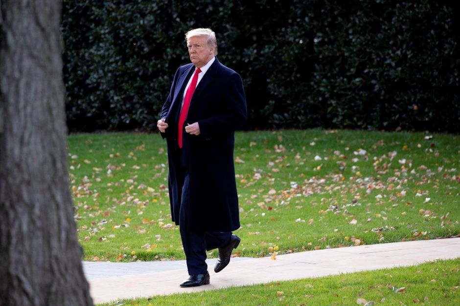 La Casa Blanca sale en defensa de Trump y pone nueva barrera legal al impeachment