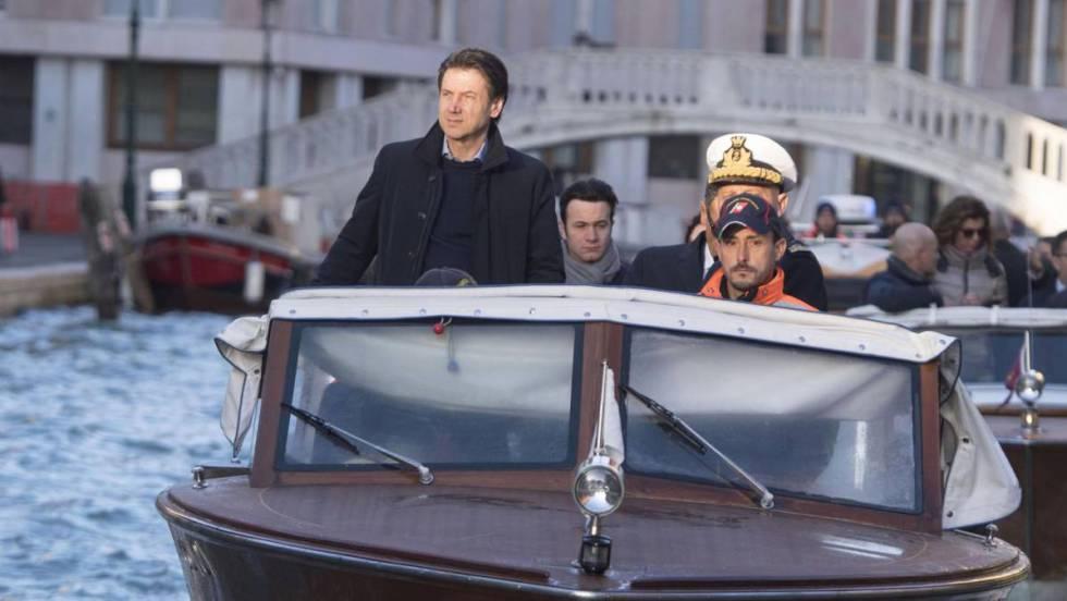 El Gobierno de Italia declara el estado de emergencia en Venecia