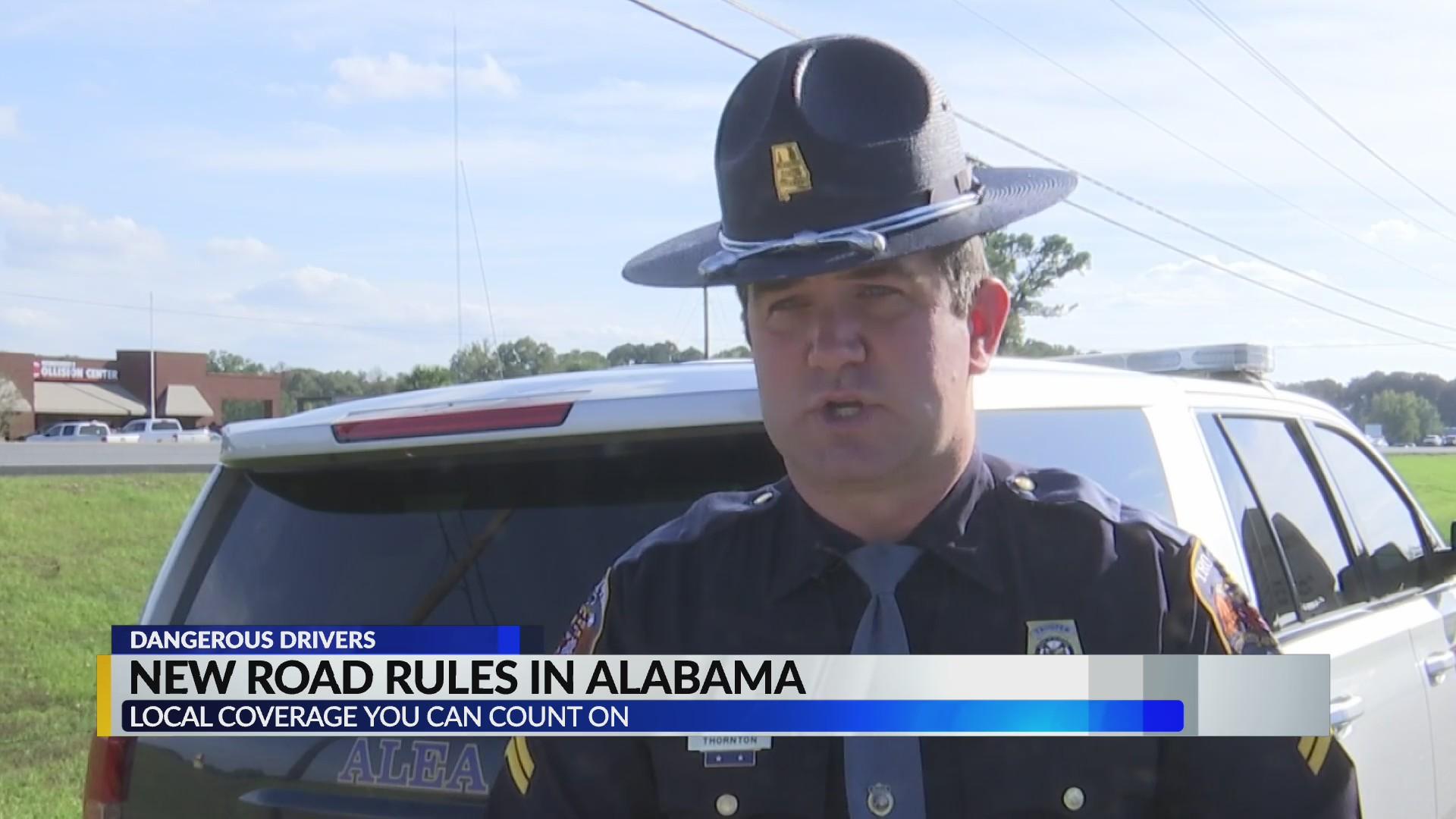Las nuevas leyes de conducción, mantienen a los habitantes de Alabama seguros y honran a aquellos que perdieron la vida por conducir peligrosamente
