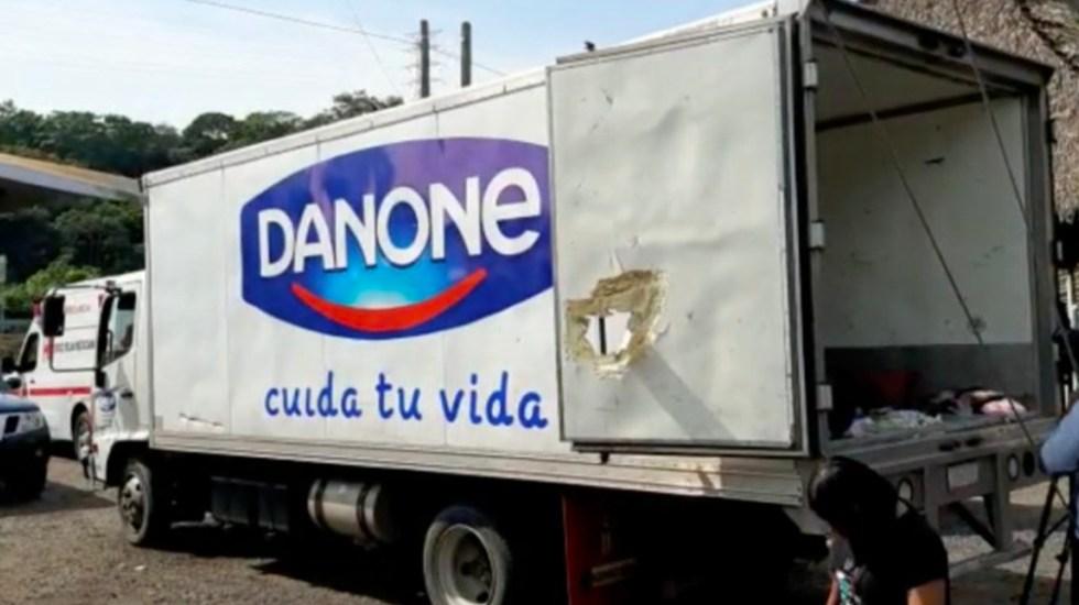 camion danone