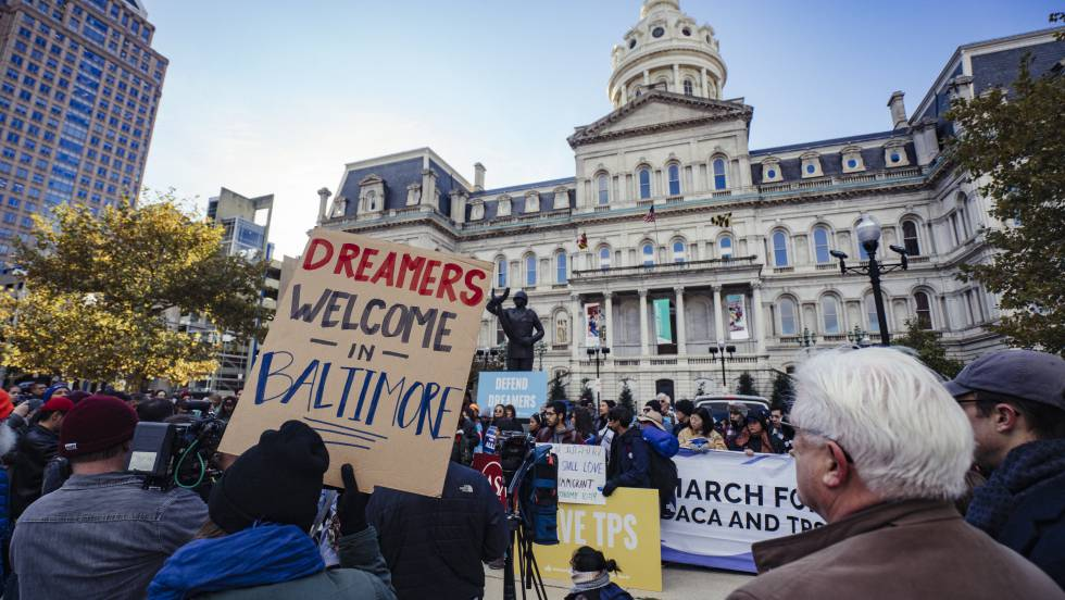 ciudadanos en baltimore a favor de dreamers