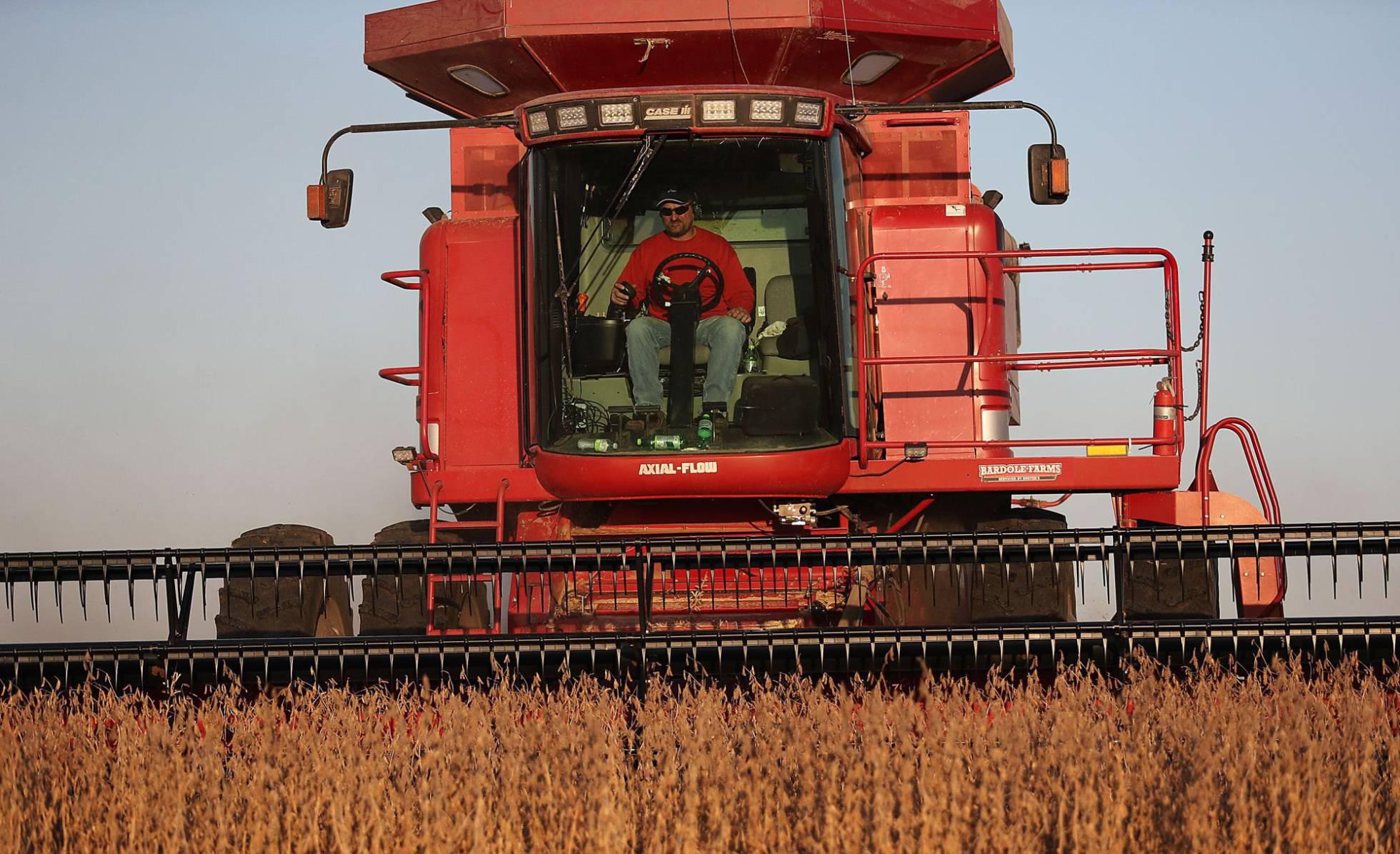cultivo soja en Iowa